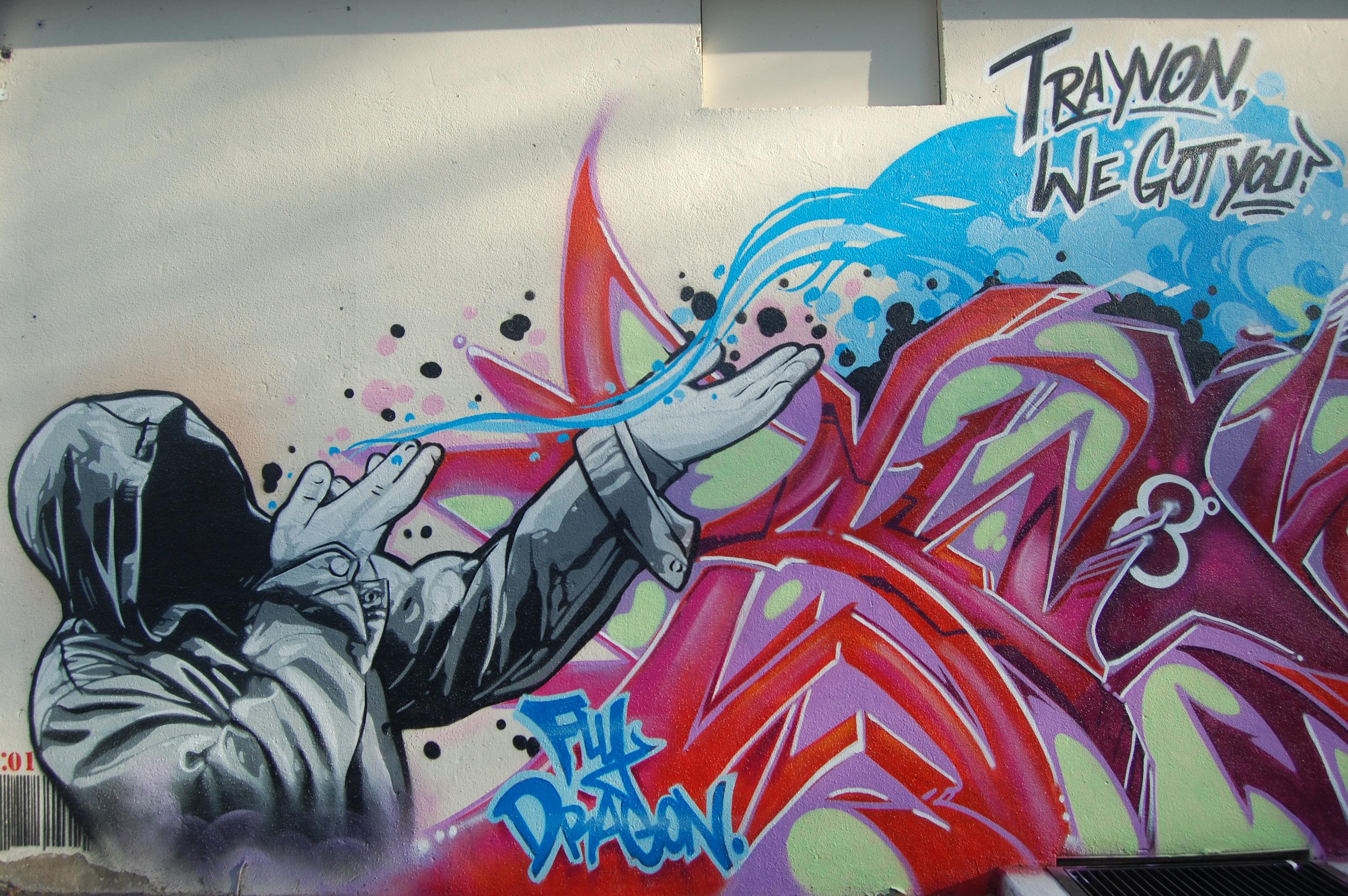 Planet chocko art music movies beyond nj graffiti for Graffiti mural