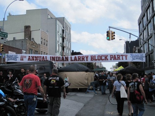 IL block party sign