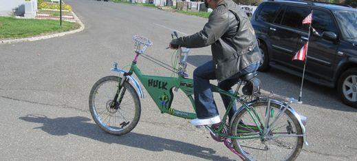Hulk monster bike 519