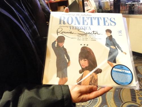 ronettes vinyl signed
