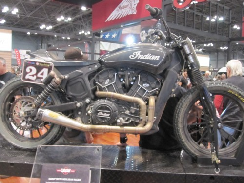 Indian scout 60 hooligan racer