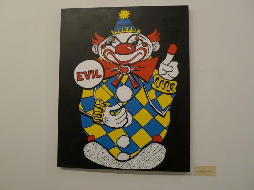 evil acrylic