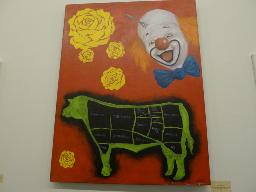 yellow rose of tx porky clown