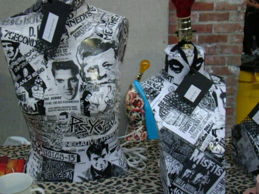 mannequin punk lamps
