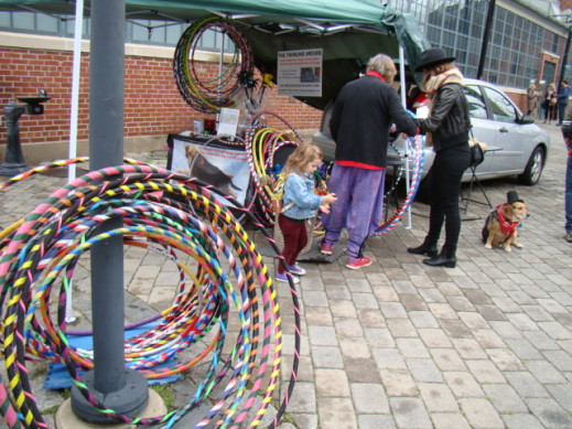 twirling arcade