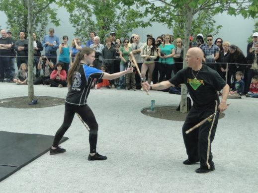 street figting dual sticks