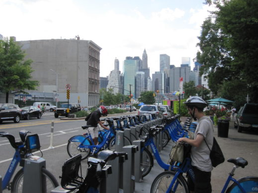 bk bridge fulton st citibike
