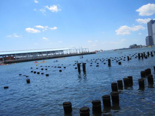 dock poles pier