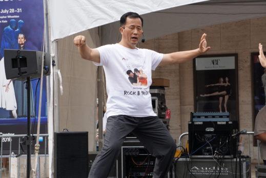guang yi stage solo class