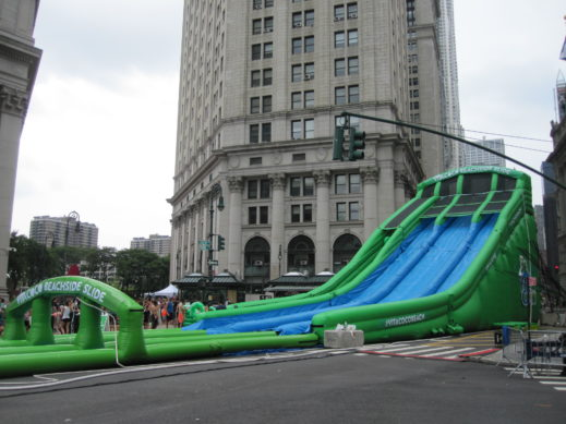 waterslide cityhall